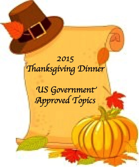 Thanksgiving Dinner Discussion