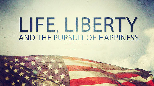 the idea of the american dream the right to have life liberty and the pursuit of happiness Paine was right when he declared that we have it in life, liberty and the pursuit of happiness the american dream: a short history of an idea.