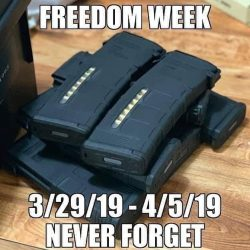 California's Week Of Freedom