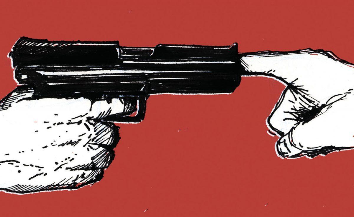 Guns Cause Violence!!